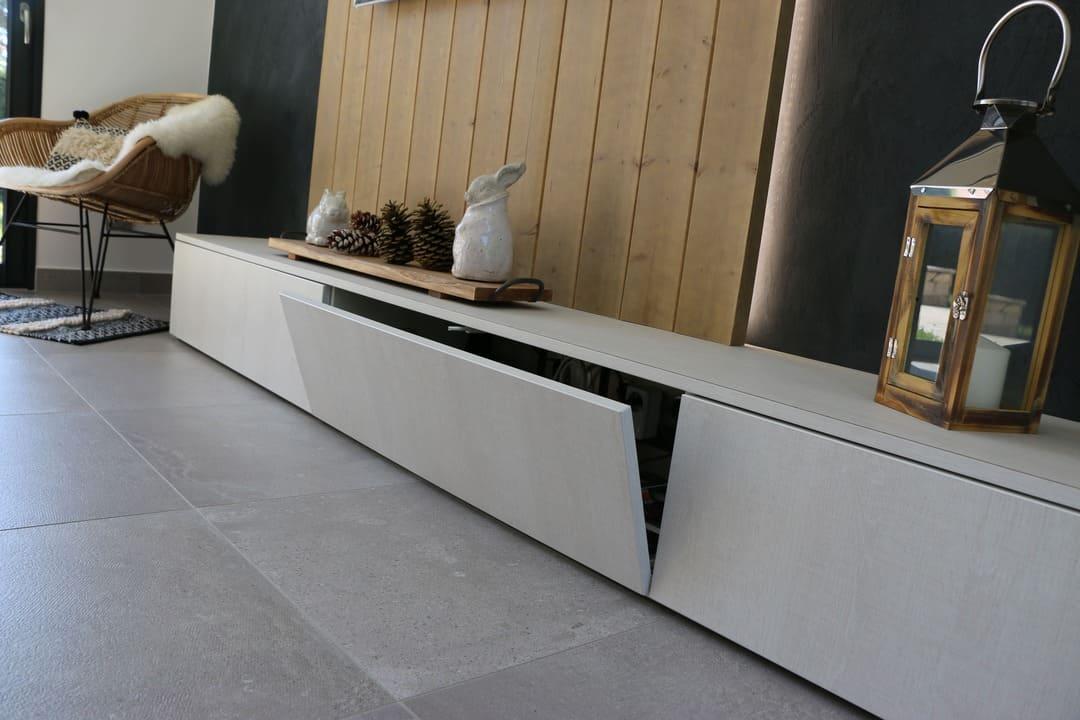 Habillage meuble TV01