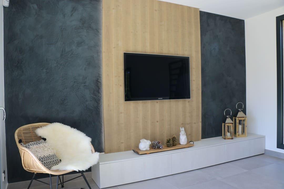 Habillage meuble TV02