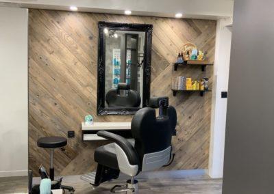 Rénovation partielle d'un salon de coiffure à Craponne07