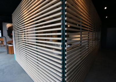 Claustra métal bois sur mesure 7