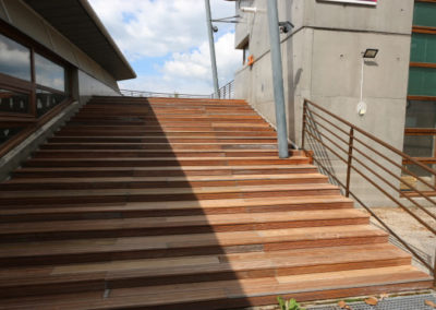 Terrasse et escalier bois IPE 1